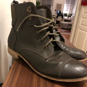 Urban Outfitters Lace Up Ankle Boots